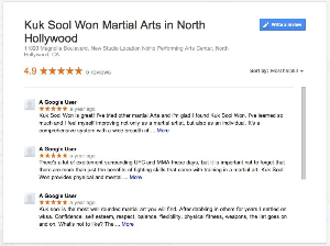 Kuk Sool Won Martial Arts - Reviews