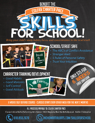 Kids Martial Arts Program - PTA Fundraising